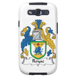 Royse Family Crest Galaxy SIII Covers