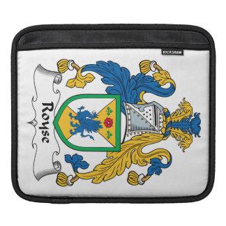 Royse Family Crest iPad Sleeve