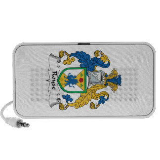 Royse Family Crest iPhone Speakers