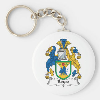 Royse Family Crest Key Chain