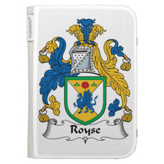 Royse Family Crest Kindle 3G Covers