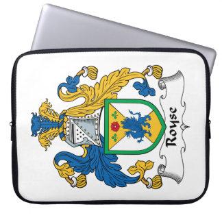 Royse Family Crest Laptop Sleeve