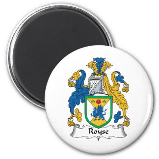 Royse Family Crest Magnets