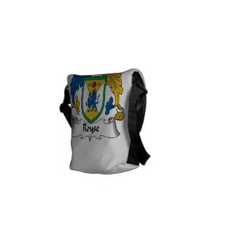 Royse Family Crest Messenger Bags