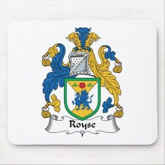 Royse Family Crest Mouse Pads