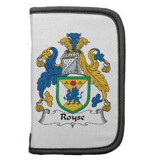Royse Family Crest Planner