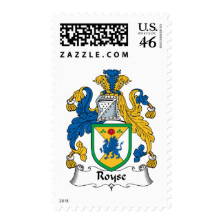 Royse Family Crest Postage