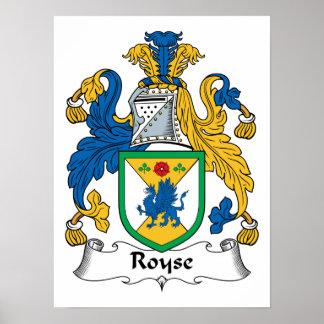 Royse Family Crest Print