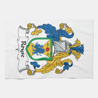 Royse Family Crest Towels