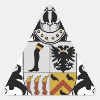 Royston Lodge Triangle Sticker