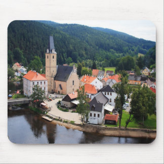 Rozmberk town mouse pad