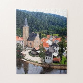 Rozmberk town jigsaw puzzles
