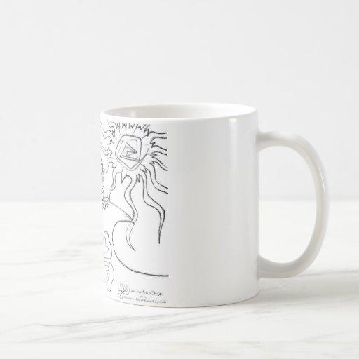 Roz's 2 classic white coffee mug