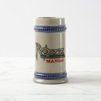 ROZZ maniac catches Beer Stein