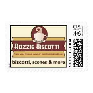Rozzie Biscotti postage stamp
