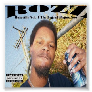 Rozzville Vol 1 CD cover Poster