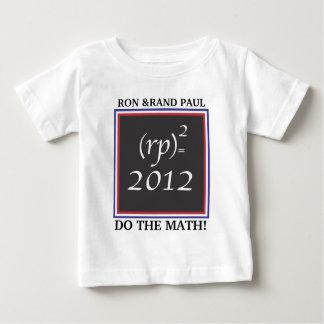 (rp) =2012.MATH. Camiseta del niño