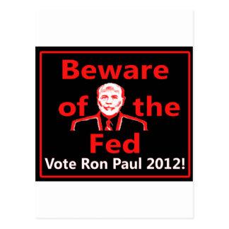 RP 2012 w/ben bernake Postcard