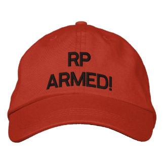 ¡RP ARMADO! casquillo de la defensa casera Gorra De Béisbol Bordada
