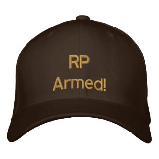 RP Armed! Ranch Defense cap, daytime casual wear Embroidered Baseball Hat