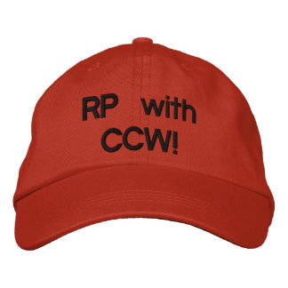 RP with CCW! Embroidered Baseball Cap