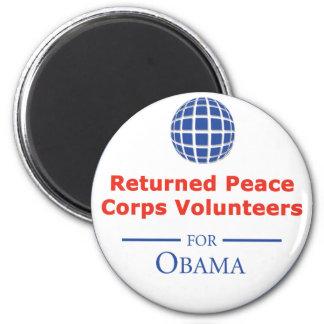 RPCVS para el imán de Obama