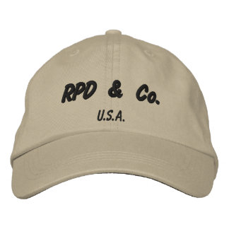 RPD & Co Embroidered Baseball Hat