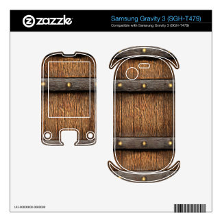 RPG 3d Fantasy Medieval Treasure Chest Samsung Gravity 3 Decal
