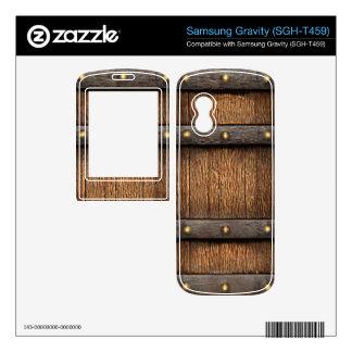 RPG 3d Fantasy Medieval Treasure Chest Samsung Gravity Decals