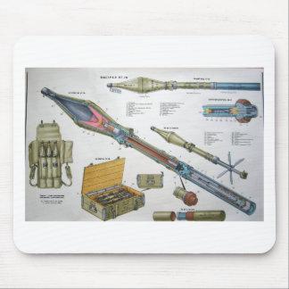 RPG-7 Rocket Alfombrilla De Raton