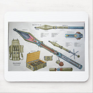 RPG-7 Rocket Mouse Pad