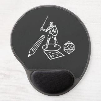 RPG/Boardgame - diseño blanco - Mousepad Alfombrilla Con Gel