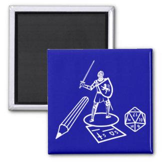 RPG / Boardgame - White Design - Magnet