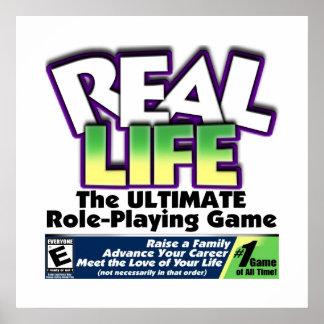 RPG de la vida real Póster