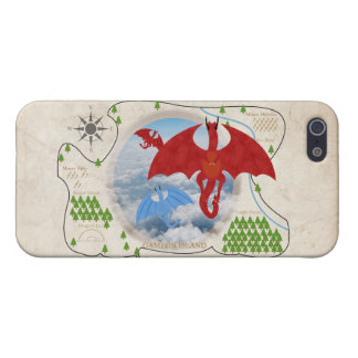 RPG Dragon Map iPhone 5S Case