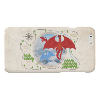 RPG Dragon Map iPhone 6 Case