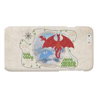 RPG Dragon Map iPhone 6 Case