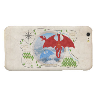 RPG Dragon Map iPhone 6 Plus Case