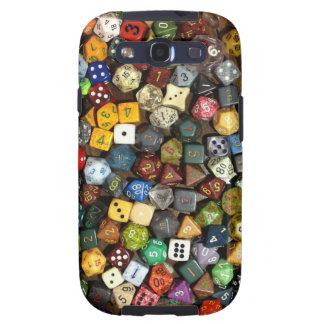 RPG game dice Galaxy S3 Case