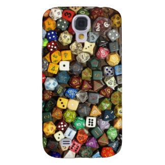 RPG game dice Galaxy S4 Case
