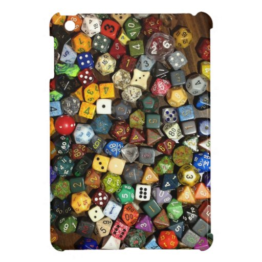 RPG game dice Cover For The iPad Mini