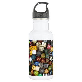 RPG game dice Water Bottle