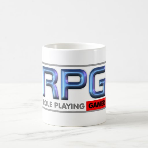RPG Gamer Lifestyle Classic White Coffee Mug