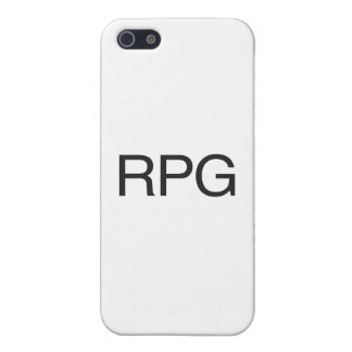 RPG iPhone 5 COVER