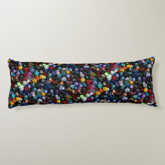 RPG Multi-sided Dice Body Pillow