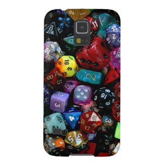 RPG Multi-sided Dice Galaxy S5 Covers