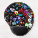 "RPG Multi-sided Dice Gel Mouse Pad<br><div class=""desc"">Even though I adore dragons,  I&#39;ve landed in a dungeon or two in my gaming days... </div>"