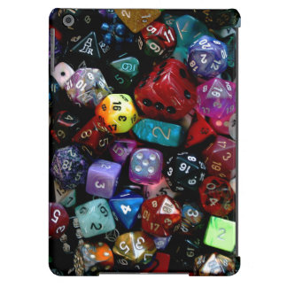 RPG Multi-sided Dice iPad Air Covers