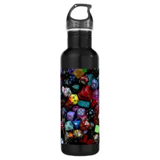 RPG Multi-sided Dice Stainless Steel Water Bottle