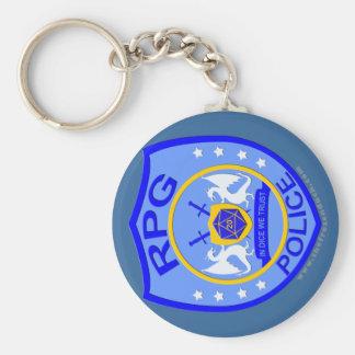RPG Police Key Chain